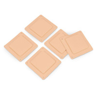 Replacement Surgical Skin Pads for the Life/form Chest Tube Manikin - Package of 5