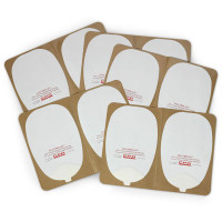 Skin Electrode Peel-Off Pads- Philips Heartstream Style