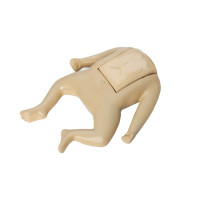 CPR Prompt Brand Tan Coated Infant Manikin Assembly