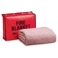 Fire Retardant Blanket, with Vinyl Bag