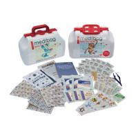 MediBag by Me4Kidz - Family First Aid Kit - 117 pieces - Pediatrician Recommended