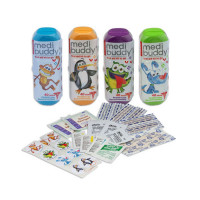 Case of 8 Medium 4 Kidz-Kid Friendly First Aid Item