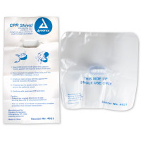 CPR Face Shield, One-Way Valve