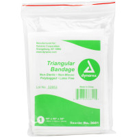 Triangular Sling/Bandage, with 2 Safety Pins - 1 each