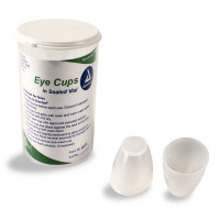 Vial of 6 eye cups for eye wash / eye safety