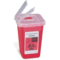 1 Quart Sharps Container