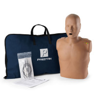 Prestan Adult Dark Skin CPR-AED Training Manikin with CPR Monitor