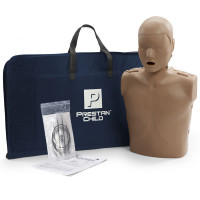 Prestan Child CPR Manikin w/o Monitor - Dark Skin