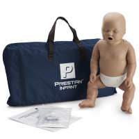 Prestan Infant CPR Manikin w/o Monitor - Dark Skin