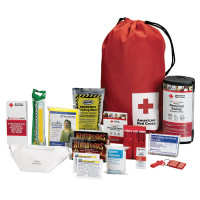 American Red Cross Personal Emergency Preparedness Kit w/ backpack