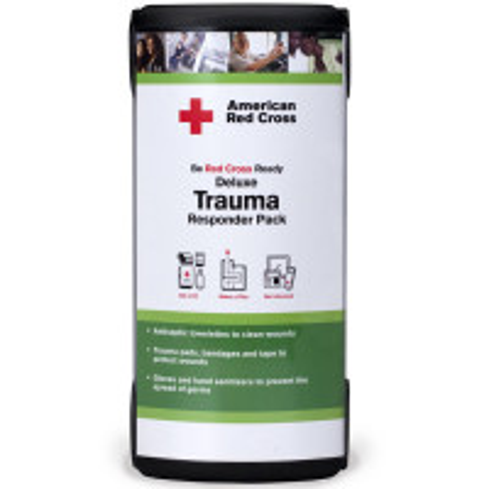 American Red Cross Deluxe Trauma Responder Pack (Paquete de lujo de contestador de trauma)