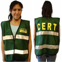 C.E.R.T. Mesh Vest with Reflective Strip