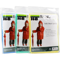 Child Size Emergency Poncho - Kids (Heavy Duty)