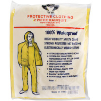 2 Piece Rain Suit - Heavy Duty PVC
