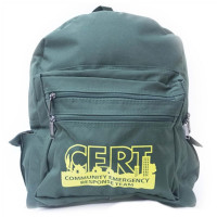Backpack w/ C.E.R.T. Logo