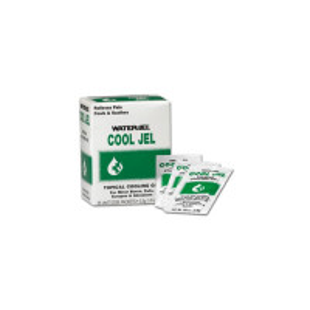 Water Jel Brand Cool Jel Burn Relief, 3.5 gm. - 25 per box