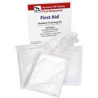 First Aid Student Training Kit, 7 Pieces