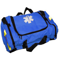 Empty First Responder Bag w/ Rigid Foam Divider Insert - Blue