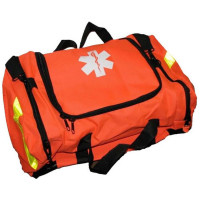 Empty First Responder Bag w/ Rigid Foam Divider Insert - Orange