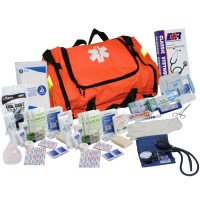 151 Piece First Responder Kit - Orange