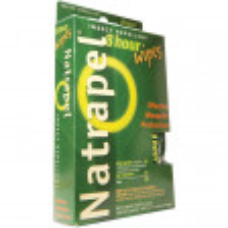 Natrapel Brand 8-hour Wipes 12/box