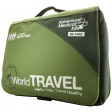 The Adventure Medical World Travel First Aid Kit is recommended for travel to developing nations, international relief work, or adventure travel involving high-risk activities