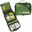 The World Travel provides you with a full complement of wound care supplies as well as medications to treat common travel ailments including stomach upset, dehydration, pain, and allergies
