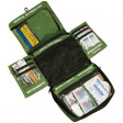 The Adventure Medical World Travel First Aid Kit is designed for easy access with compartmentalized content by ailment/injury/treatment type