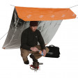This ultra-versatile survival blanket serves many uses, tarp, lean-to, canopy, and more