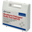 Bloodborne Pathogen and Bodily Fluid Spill Kit - 24 Pieces - Plastic
