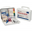 94 pc Vehicle First Aid Kit - plastic case with gasket