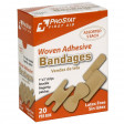 Assorted Woven Adhesive Bandages, 20 per Box