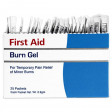 25 individual .9 gram Burn Gel packets per box