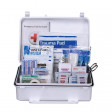 25 Person First Aid Kit, ANSI A+, Plastic Case