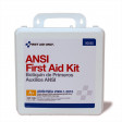50 Person First Aid Kit, ANSI A+, Plastic Case