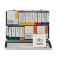 36 Unit First Aid Kit, ANSI A+ with BBP,  Metal Case