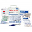 Bilingual Contractor's First Aid Kit : 10 person : 96 Pieces