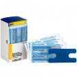 Visible Blue Metal Detectable Knuckle Bandages Latex-Free, 20 each
