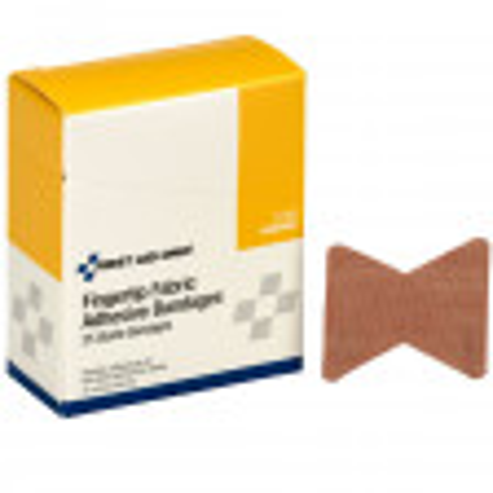 Fingertip Bandage, Fabric - 25 per box