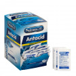Box of 100 Antacid Heartburn Medication Tablets and Perforated Lid for Easy Access