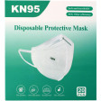 KN95 Protective Face Masks, Disposable Particulate Filtering Mask, 20 per box