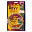 Survival Emergency Candle, Burns 36 Hours