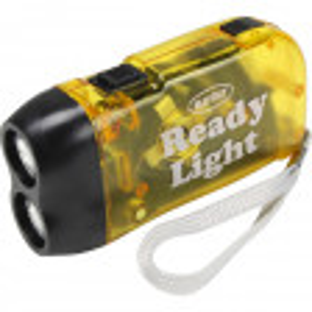 Dynamo Hand Squeeze Powered Flashlight