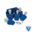 CPR Prompt Brand 5-Pack Adult/Child Training Manikin - Blue