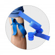 Latex Free Tourniquet for stopping the flow of blood through a vein or artery