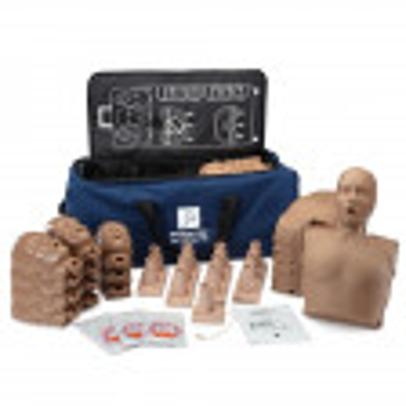 Prestan Ultralite Manikin with CPR Feedback, 12-Pack, Dark Skin