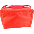 Red Vinyl Cooler Bag with imprint