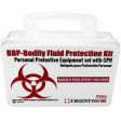 BBP / Bodily Fluid ProtectionKit with Bonus 6 piece CPR kit for additional Rescuer Protection