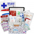 Great for any workplace the 25 person ANSI first aid kit is clearly labeled and contains full content for compliance