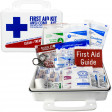 Bulk First Aid Kit, Plastic, 74 Pieces, ANSI A, 25 Person